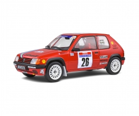 1:18 Peugeot 205 PTS red #26
