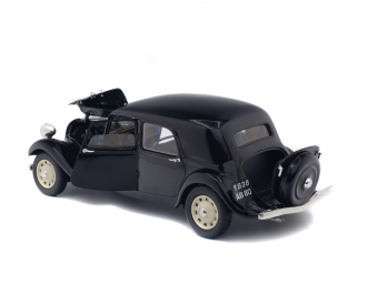 1:18 Citroën Traction IICV, black, 1937