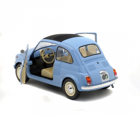1:18 Steyr Puch 500, blau
