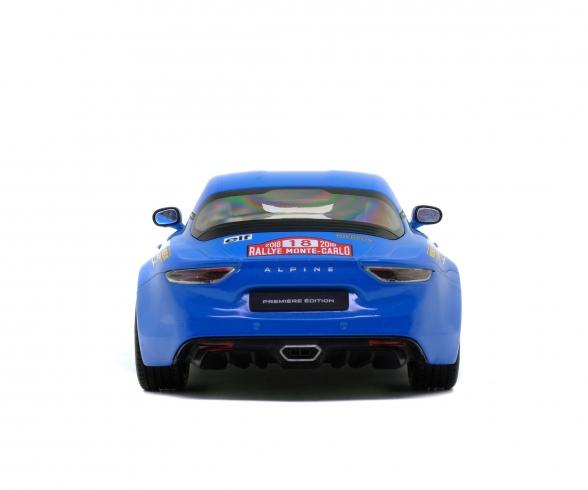 1:18 Alpine A110, 2018, blue