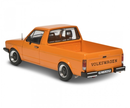 1:18 VW Caddy orange met.