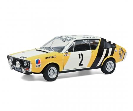 1:18 Renault R17 gelb #2