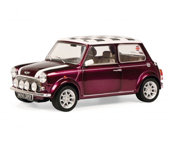 1:18 Mini Cooper Sport purple
