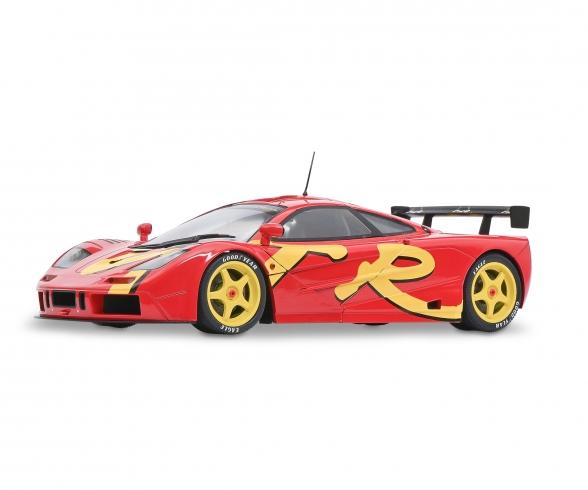 1:18 McLaren F1 red