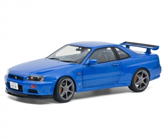 1:18 Nissan R34 GTR blue