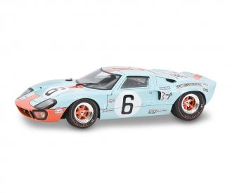 1:18 Ford GT40 blau #6