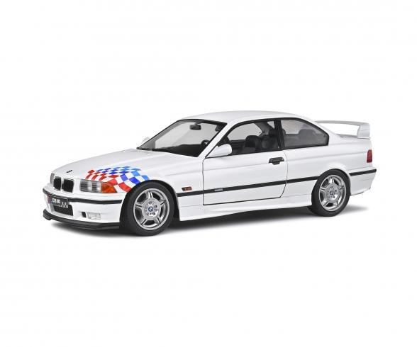 1:18 BMW M3 Lightweight weiß