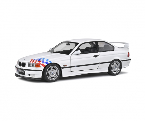 1:18 BMW M3 lightweight white