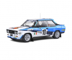 1:18 Fiat 131 Abarth #10 white/blue