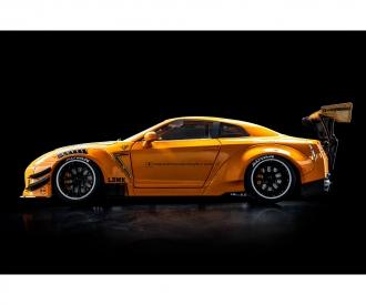 1:18 Nissan GTR R35 orange