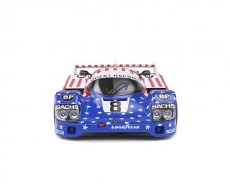 1:18 Porsche 956 blau/rot #8