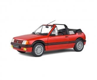 1:18 Peugeot 205 Cabrio rot