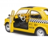 1:18 Fiat 500 TAXI NYC yellow