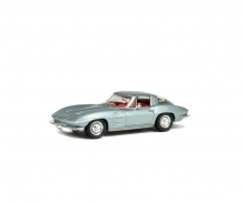 1:43 Chevrolet Corvette, silber, 1963