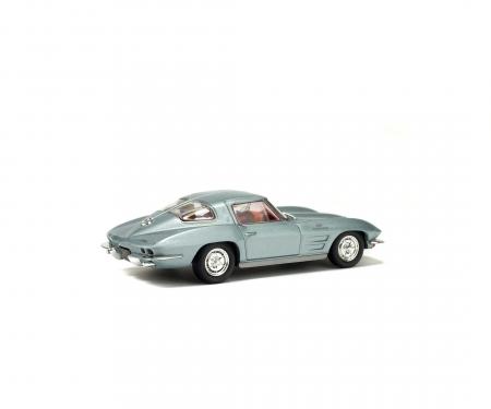 1:43 Chevrolet Corvette, silver, 1963