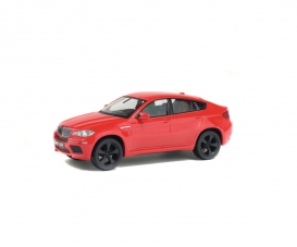 1:43 BMW X6 M, rot, 2007