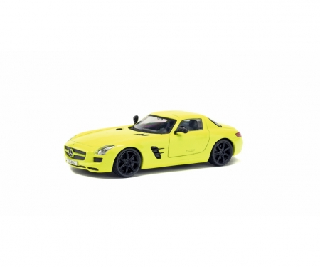 1:43 MB SLS (2010) yellow