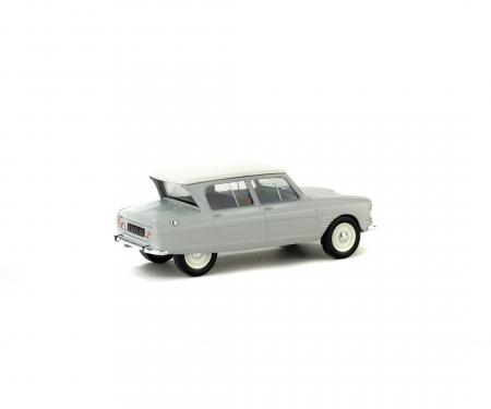 1:43 Citroën AMI6, light grey, 1963