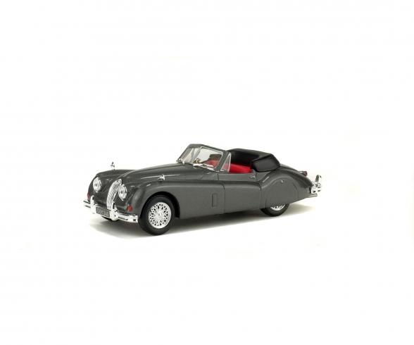1:43 Jaguar XK 140, grau, 1956