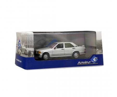 1:43 Mercedes-Benz 190E, silver, 1984