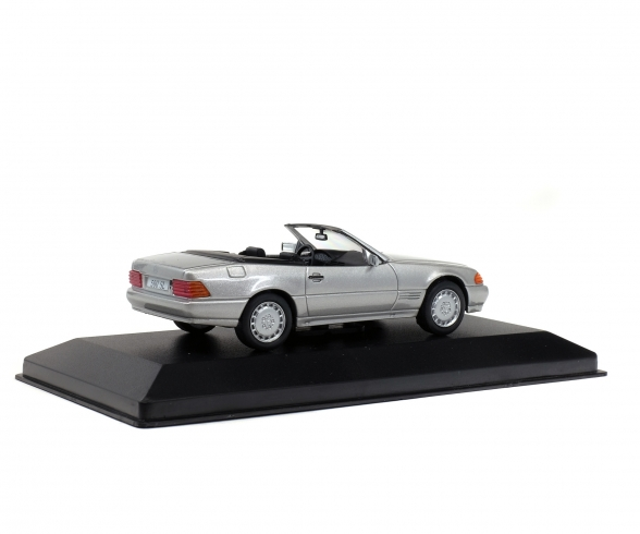 1:43 MB 500 SL, silber, 1989