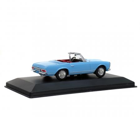 1:43 MB 230 SL, blau, 1963