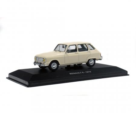 1:43 Renault 6, white, 1970