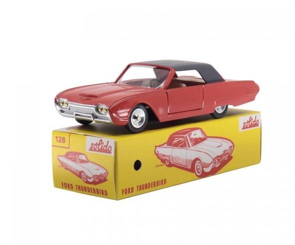 1:43 Ford Thunderbird orange