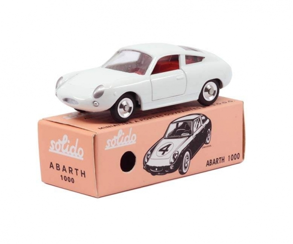 1:43 Fiat Abarth 1000 weiß