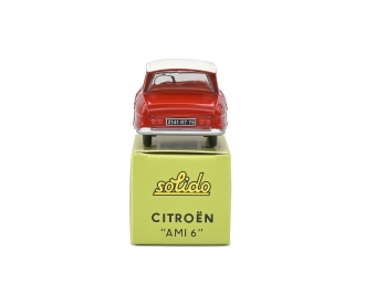 1:43 Citroen AMI 6 red
