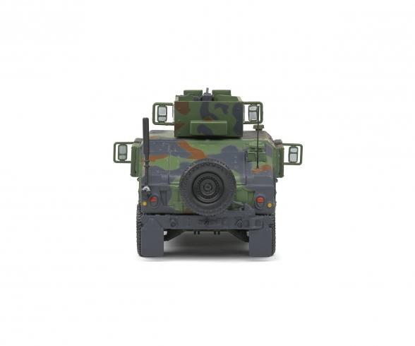 1:48 M1115 Humvee green camo