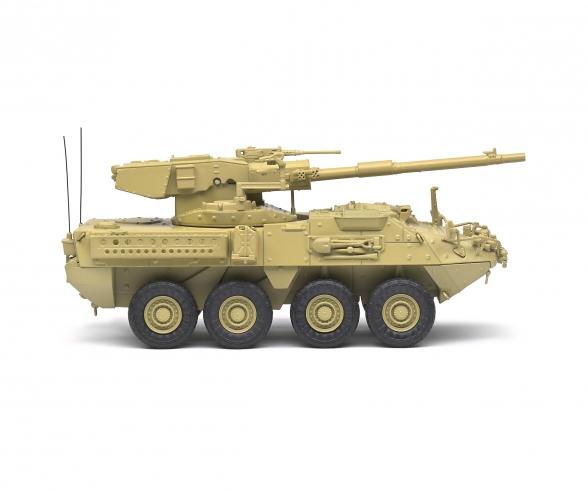 1:48 M1128 MGS Stryker beige