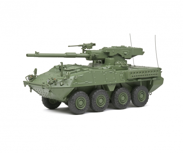 1:48 M1128 MGS Stryker green