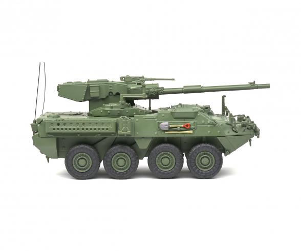 1:48 M1128 MGS Stryker grün