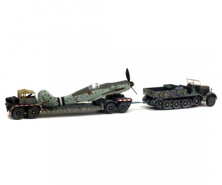 1:72 Famo Zugmaschine mit AH116 und FW190 Rumpf, 1945