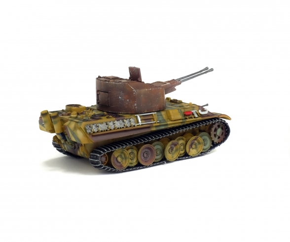 1:72 Anti aircraft tank 341 Coelian, Germany, 1945