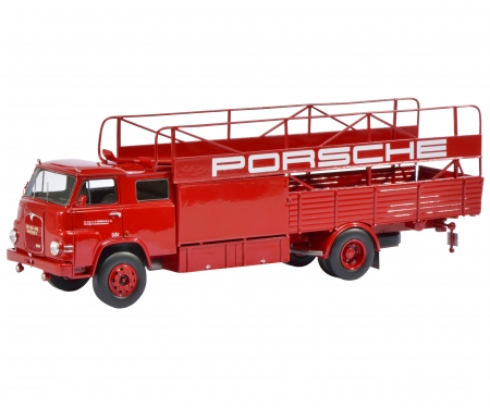 """MAN Renntransporter """"Porsche"""", 1:18"""