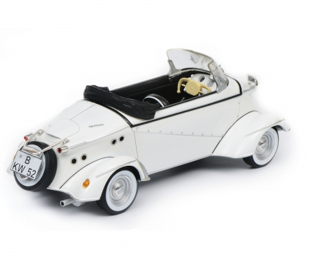 "FMR TG 500 Roadster ""Tiger"", white, 1:18"