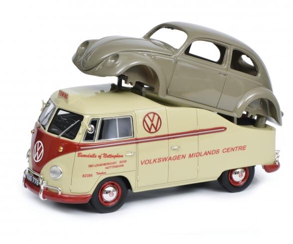 VW T1a Midlands Centre 1:18