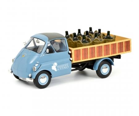 """Isocarro Pritschenwagen mit Weinladung """"Transporte de Vino"""" 1:18"""