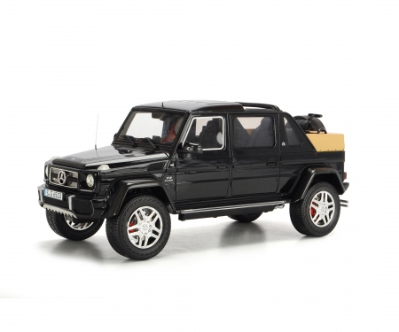 Mercedes-Maybach G650 Landaulet, black, 1:18