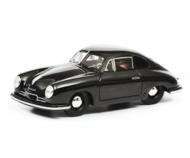 Porsche 356 Gmuend, black 1:18
