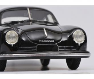 Porsche 356 Gmuend, black 1:18