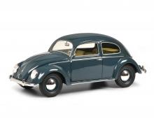 VW Kaefer split window, blue 1:18