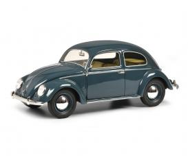 VW Brezelkäfer, blau 1:18