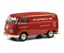 VW T1 box van PORSCHE 1:18