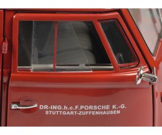 VW T1 box van PORSCHE 1:18