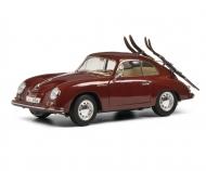 Porsche 356A Skiurlaub 1:18