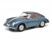 """Porsche 356 A Carrera Coupé """"Edition 70 Jahre Porsche"""", blau-metallic, 1:18"""
