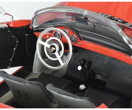 """Porsche 356 A Carrera Speedster """"Edition 70 Jahre Porsche"""", rot-schwarz, 1:18"""